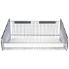 Quantum Storage Systems Clear Label Holder For Wire Hanging Baskets QNTHBL165C