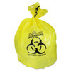 "double markdown: Heritage Bag® Healthcare Biohazard Can Liners- 43"" x 30"", Yellow"
