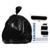 Heritage Bag Heritage Bag® RePrime® Can Liners - 37 x 50, Black HER H7450PKR01