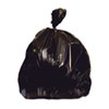 "Waste Can Liners: Heritage Bag® Repro Can Liners - 33"" x 39"", Black"