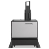 carts and stands: HP Cabinet and Stand for Officejet Enterprise Color MFP X585, X555 Printers
