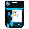Hewlett Packard: HP C9397A, C9398A, C9399A, C9400A, C9401A (72) Inkjet Cartridge
