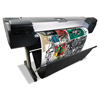 """printers and multifunction office machines: HP Designjet Z5200 44"""" Wide-Format Inkjet Printer With PostScript Capabilities"""