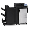 multifunction office machines: HP LaserJet Enterprise flow M830 Series Multifunction Laser Printer