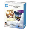 Hewlett Packard: HP Social Media Snapshots Removable Sticky Photo Paper