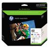 Hewlett Packard: HP 02 Series Photo Paper Value Pack