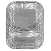 IV Supplies IV Kits Trays: Aluminum Caterware Hamburger Trays