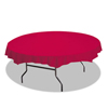 Hoffmaster Hoffmaster® Octy-Round® Plastic Tablecover HFM 112011