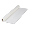 Hoffmaster White Plastic Roll Tablecover HFM 114000
