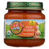 Earth's Best Organic First Carrots Baby Food - Stage 1 - Case of 12 - 2.5 oz. HGR 0105494