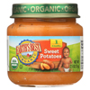 Earth's Best Organic Sweet Potatoes Baby Food - Stage 1 - Case of 12 - 2.5 oz. HGR 0105510