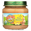 Organic First Bananas Baby Food - Stage 1 - Case of 12 - 2.5 oz.