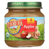 Earth's Best Organic Apples Baby Food - Stage 2 - Case of 12 - 4 oz. HGR 0106922