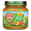 Earth's Best Organic Pears and Mangos Baby Food - Stage 2 - Case of 12 - 4 oz. HGR 0122093