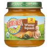 Organic Winter Squash Baby Food - Stage 2 - Case of 12 - 4 oz.