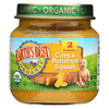 Earth's Best Organic Corn and Butternut Squash Baby Food - Stage 2 - Case of 12 - 4 oz. HGR 0125419