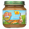 Earth's Best Organic Rice and Lentil Dinner Baby Food - Stage 2 - Case of 12 - 4 oz. HGR 0126961