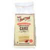 Bob's Red Mill Gluten Free Vanilla Cake Mix - 19 oz. - Case of 4 HGR 0170928