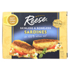 Sardines - Skinless Boneless in Olive Oil - Case of 10 - 3.75 oz.