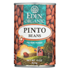 Ring Panel Link Filters Economy: Eden Foods - Organic Pinto Beans - Case of 12 - 15 oz.