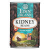 Ring Panel Link Filters Economy: Eden Foods - Organic Kidney Beans - Case of 12 - 15 oz.