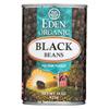 Ring Panel Link Filters Economy: Eden Foods - Organic Black Beans - Case of 12 - 15 oz.