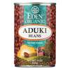 Ring Panel Link Filters Economy: Eden Foods - Organic Aduki Beans - Case of 12 - 15 oz.