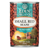 Eden Foods Small Red Beans Organic - Case of 12 - 15 oz. HGR029056