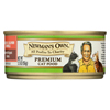 Newman's Own Organics Adult Cat Formula - Dry - Case of 24 - 5.5 oz. HGR0378778