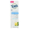 Tom's Of Maine Toothpaste - Simply White - Gel - Sweet Mint - 4.7 oz. - Case of 6 HGR 0405852