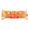 Brown Rice Snaps - Cheddar - Case of 12 - 3.5 oz.