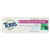 Tom's Of Maine Antiplaque & Whitening Toothpaste Peppermint - Case of 12 - 1 oz. HGR 0457911