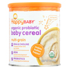 Happy Baby Happy Bellies DHA Pre and Probiotics Plus Choline Organic MultiGrain Cereal - Case of 6 - 7 oz. HGR 00481416
