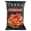 Terra Chips Sweet Potato Chips - Sweets and Carrots - Case of 12 - 6 oz. HGR 0511808