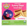 Earth's Best Sunny Days Strawberry Snack Bars - Case of 6 - 5.3 oz. HGR 0557231