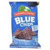 Blue Corn Tortilla Chips - Blue Corn - Case of 12 - 16 oz.