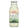 Lakewood Organic Aloe Juice - Pure - Fresh Pressed - Inner Fillet - with Lemon - 12.5 oz. HGR 00600890