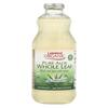 Lakewood Organic Aloe Juice - Whole Leaf - Fresh Pressed - with Lemon - 32 oz. HGR 00600973