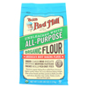 Bob's Red Mill Organic Unbleached White All-Purpose Flour - 5 lb - Case of 4 HGR 0663815