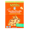 Clean and Green: Annie's Homegrown - Gluten Free Snickerdoodle Bunny Cookies Cinnamon Sugar - Case of 12 - 6.75 oz.