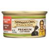 Newman's Own Organics Cat Food - Chicken and Salmon - Case of 24 - 3 oz. HGR0692210