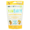 Yummy Earth YumEarth Organics Organic Lemon Drops - Cheeky Lemon - 3.3 oz. - Case of 6 HGR 0692798