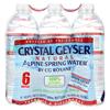 Crystal Geyser Alpine Spring Water - Case of 4 - 16.9 Fl oz. HGR 0739946