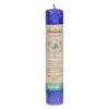Aloha Bay Chakra Pillar Candle Abundance Indigo - 1 Candle HGR 00743450