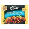 seafood: Reese - Baby Clams - Smoked - 3.66 oz. - Case of 10