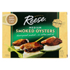 seafood: Reese - Oysters - Smoked - Medium - 3.7 oz. - Case of 10