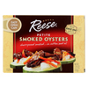 seafood: Reese - Oysters - Smoked - Petite - Case of 10 - 3.7 oz.