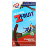 Organic Kid Twisted Fruit Rope - Strawberry - Case of 6 - 0.7 oz.
