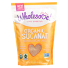Clean and Green: Wholesome Sweeteners - Dehydrated Cane Juice - Organic - Sucanat - 1 lb - case of 12