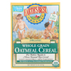 Earth's Best Organic Whole Grain Oatmeal Infant Cereal - Case of 12 - 8 oz. HGR 0943589